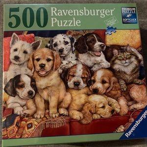 New Ravensburger 500 piece puzzle